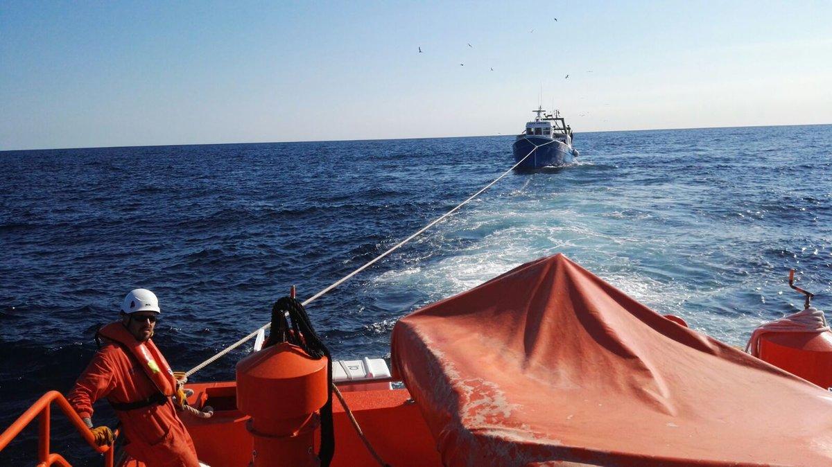сеть на рыболовном судне